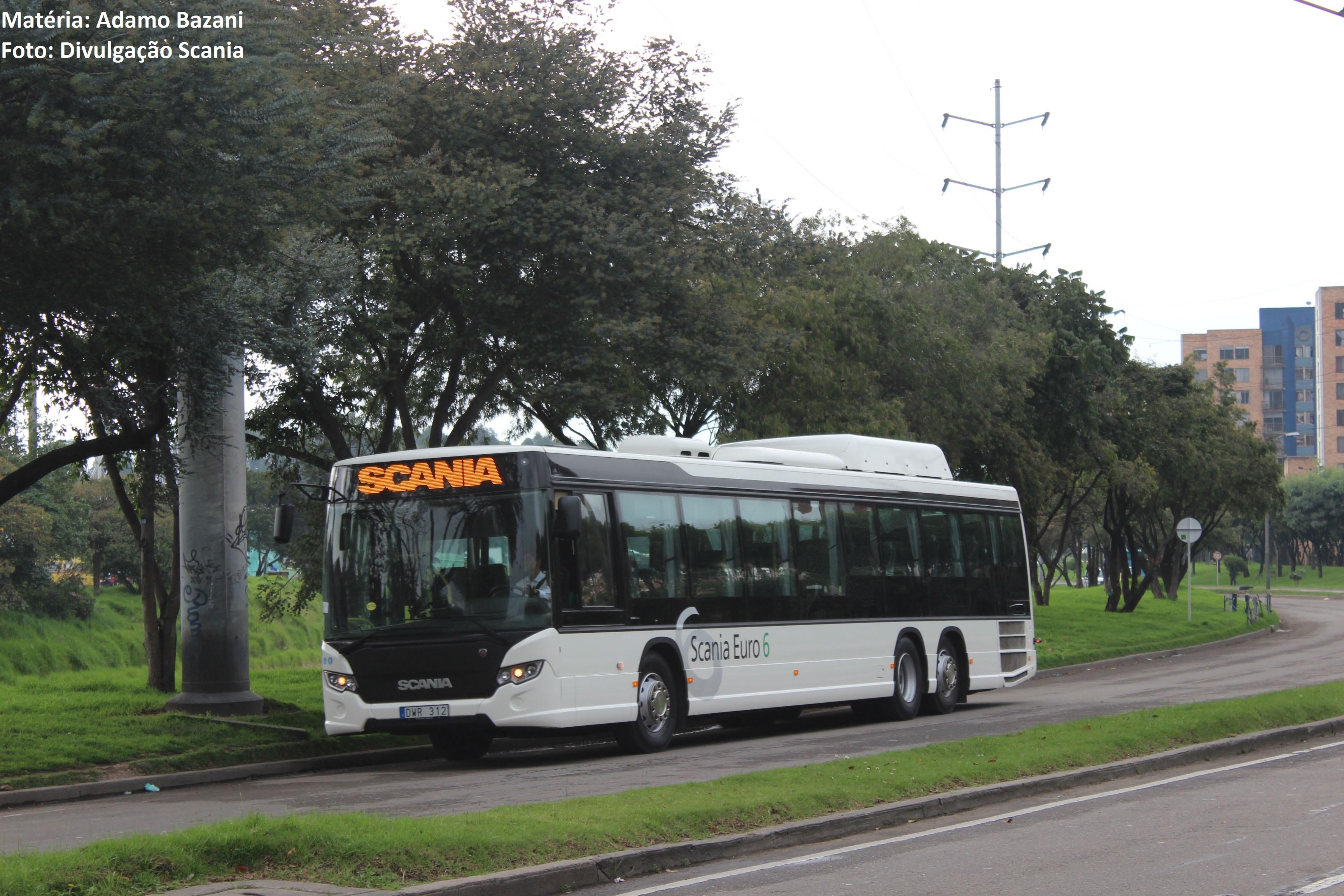 ônibus biometano