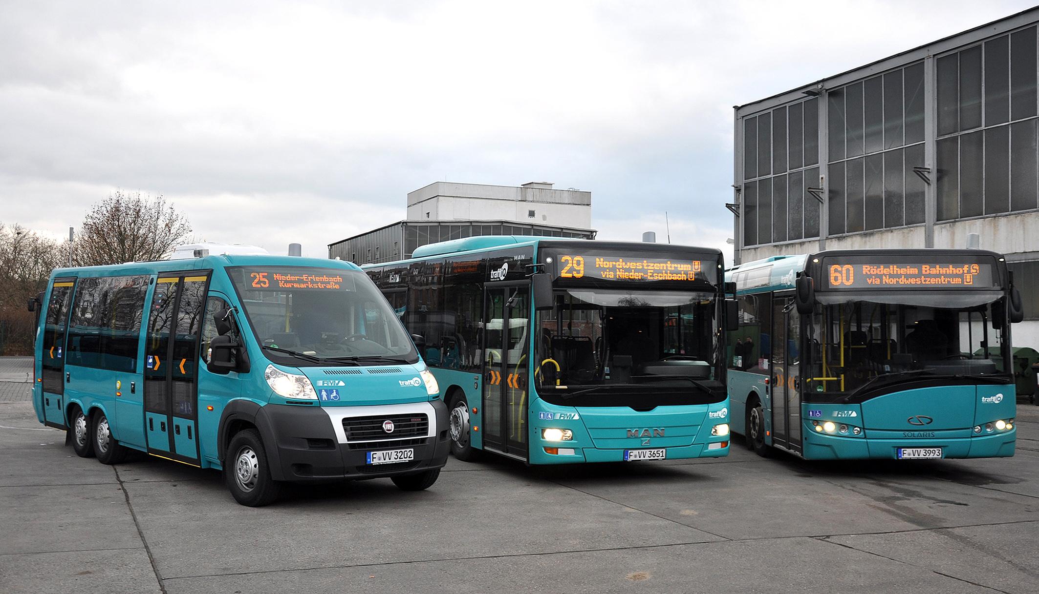 ônibus Frankfurt