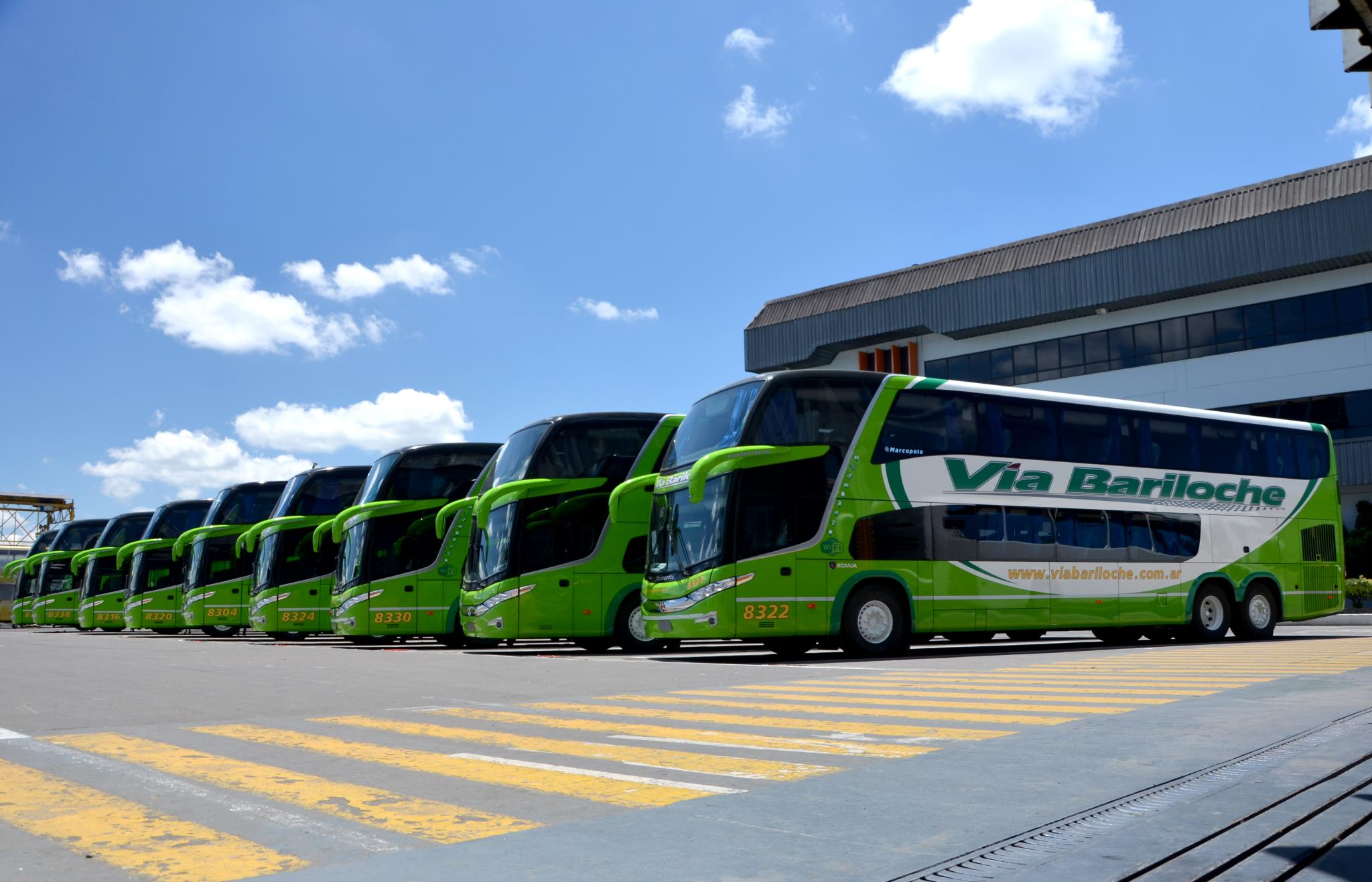 ônibus para Argentina