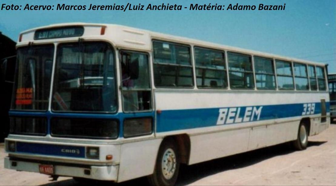 Em 1979, a Caio apresentava o Gabriela Expresso. A versão articulada tinha chassi Volvo e transportava em torno de 110 passageiros. Também havia modelos de dois eixos sobre chassis diferentes, como Volvo B 58 e Mercedes-Benz OH1517