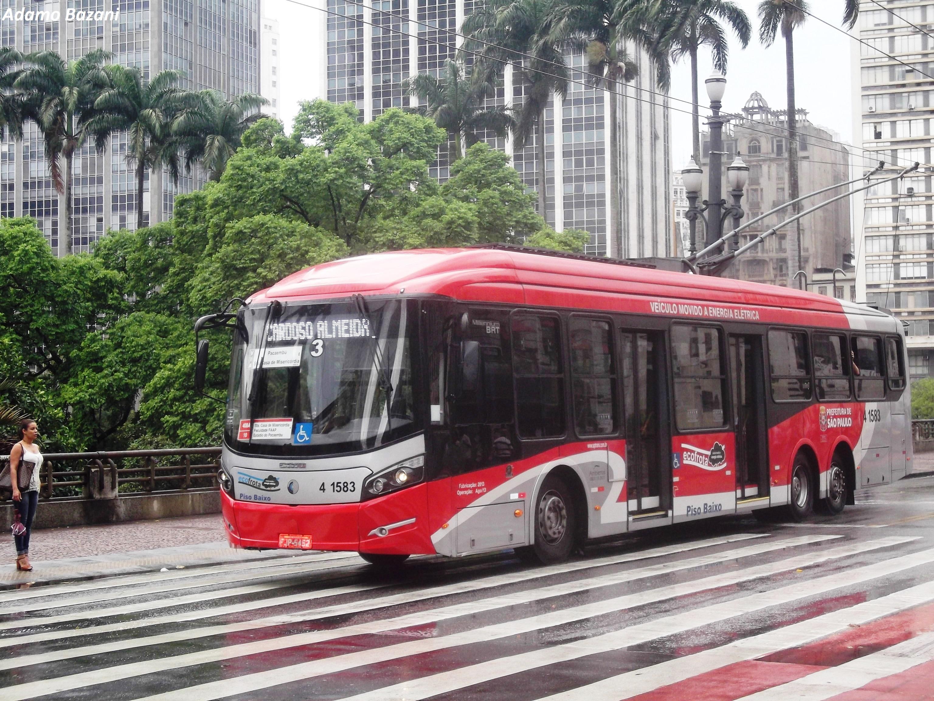 trólebus São Paulo