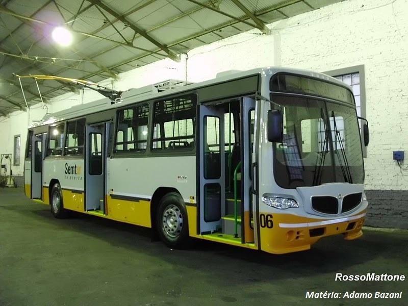 Em Rosário, na Argentina, os trólebus que eram para a Metrobel foram sucesso. Reforma em 2011, modernizou os veículos