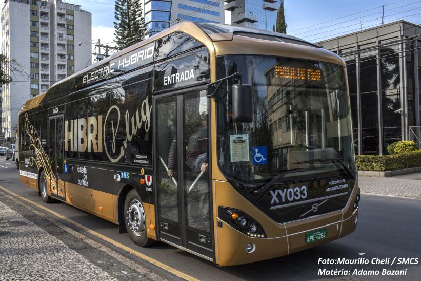 Híbrido vai circular por seis meses em Curitiba -  Foto: Maurilio Cheli/SMCS