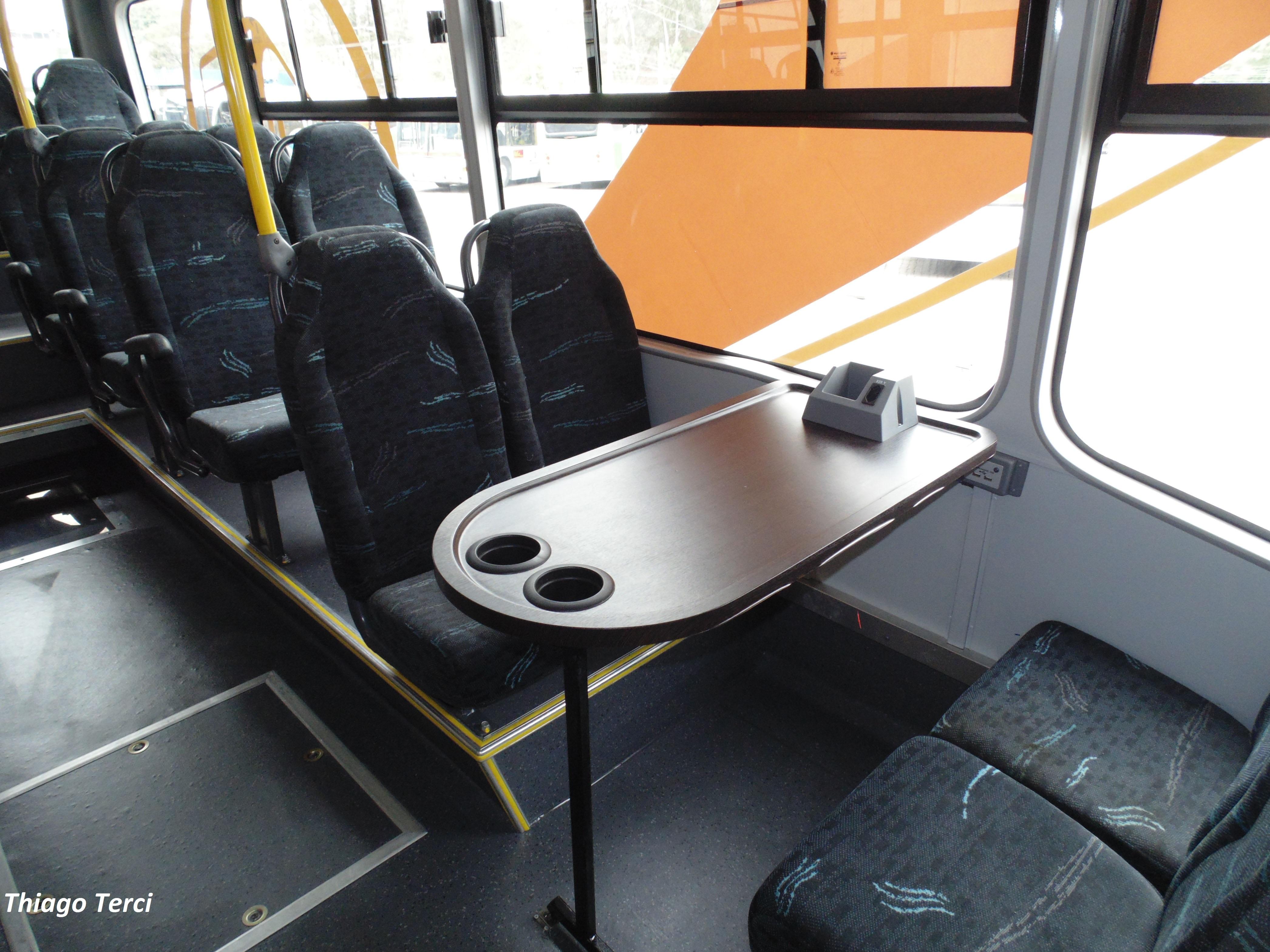 Pelo deslocamento produtivo, de maneira confortável e adequada, os passageiros já podem desenvolver suas atividades durante as viagens
