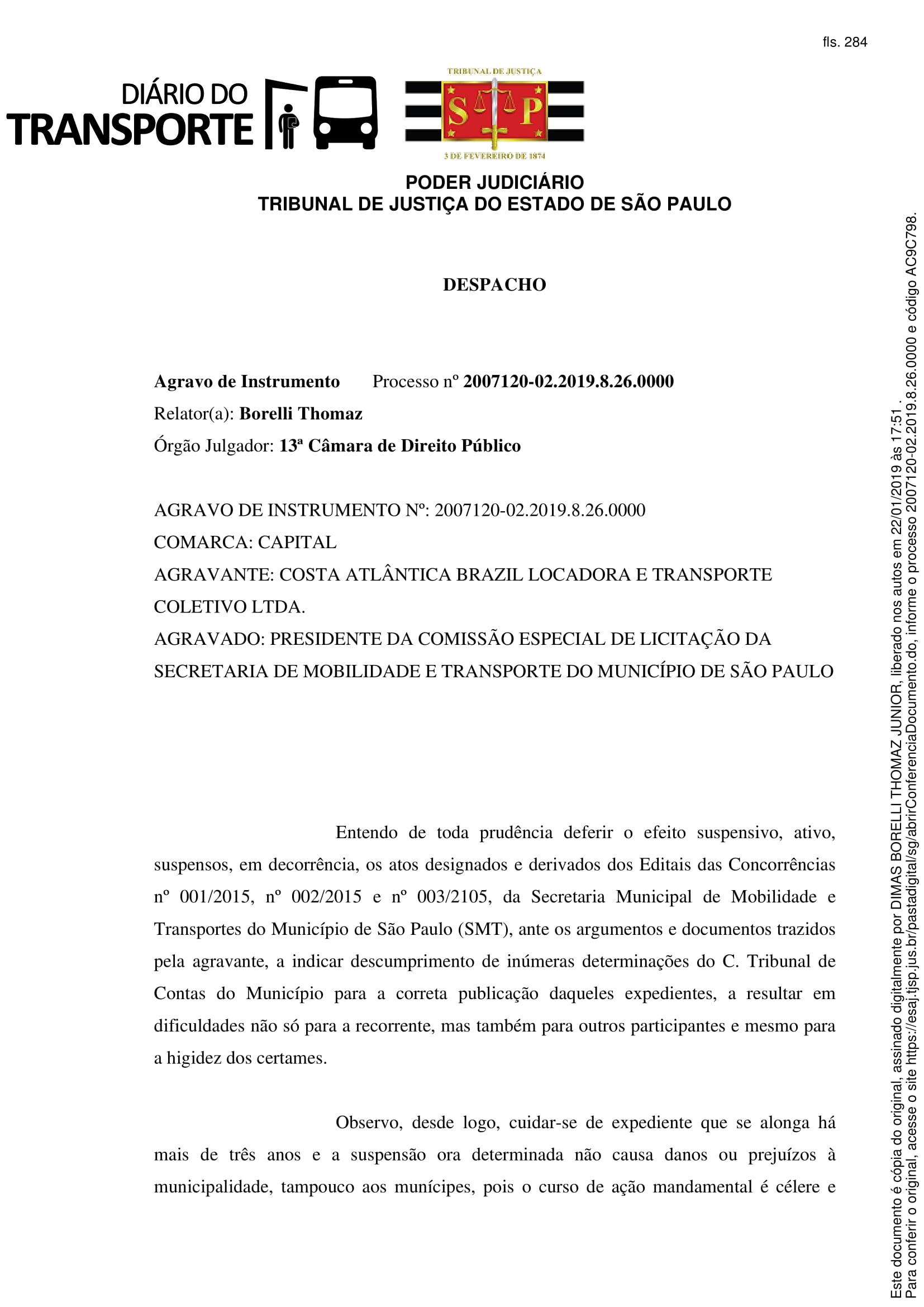 DECISÃO.AGRAVO-1
