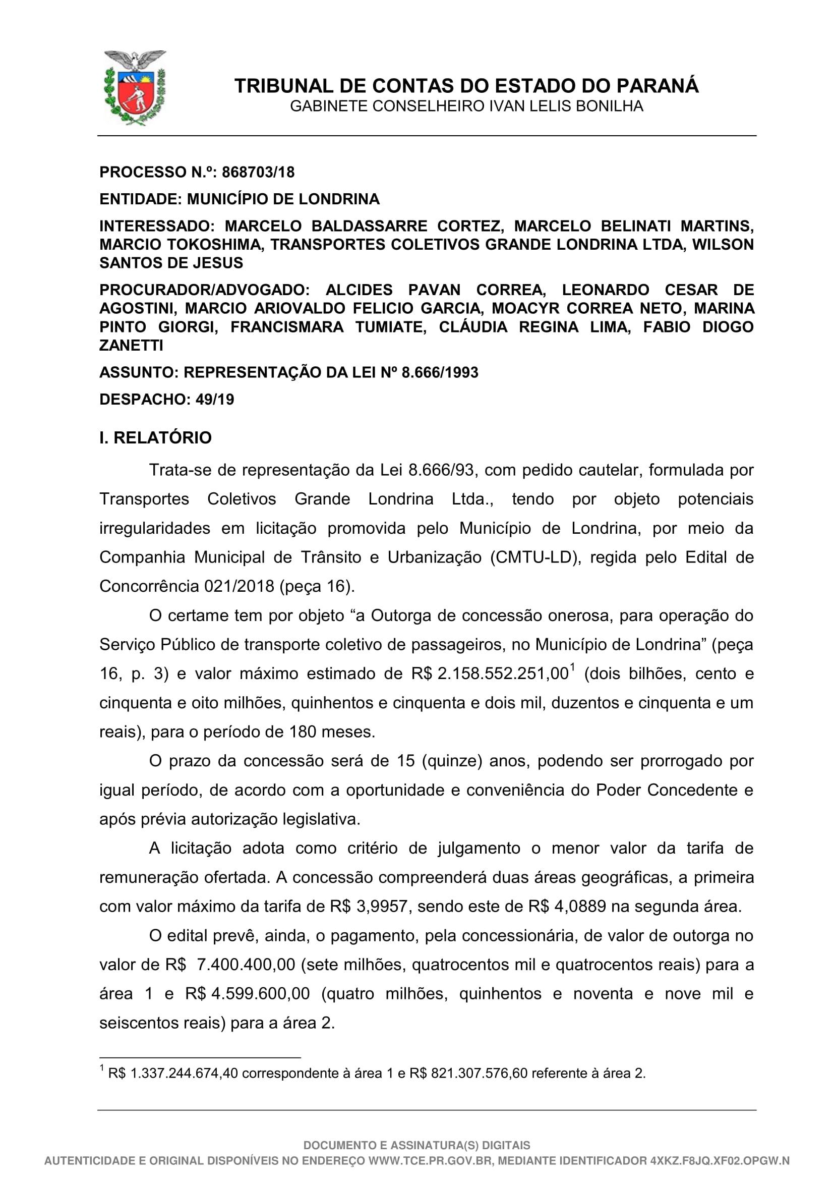Despacho - 49-19 - GCILB-01