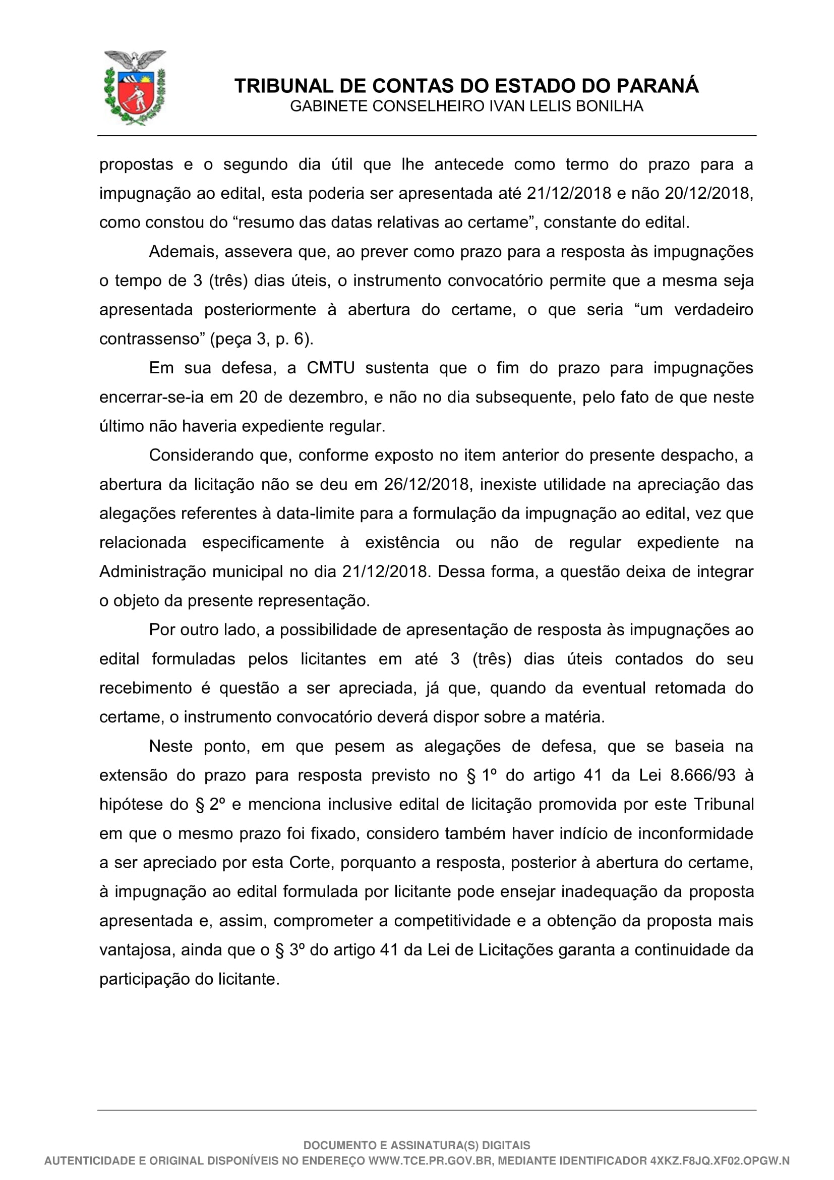 Despacho - 49-19 - GCILB-08