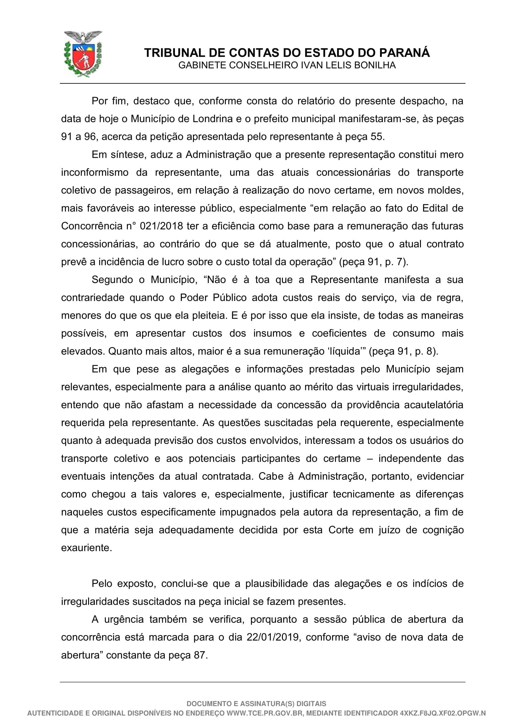 Despacho - 49-19 - GCILB-23