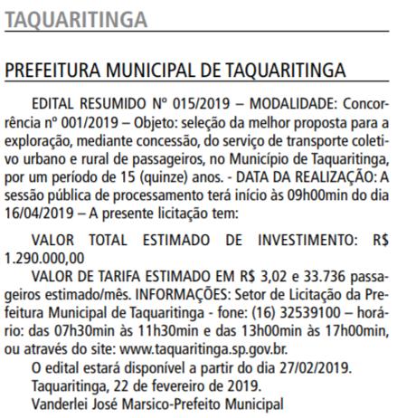 taquaritinga