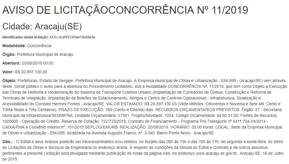 licita_Aracaju