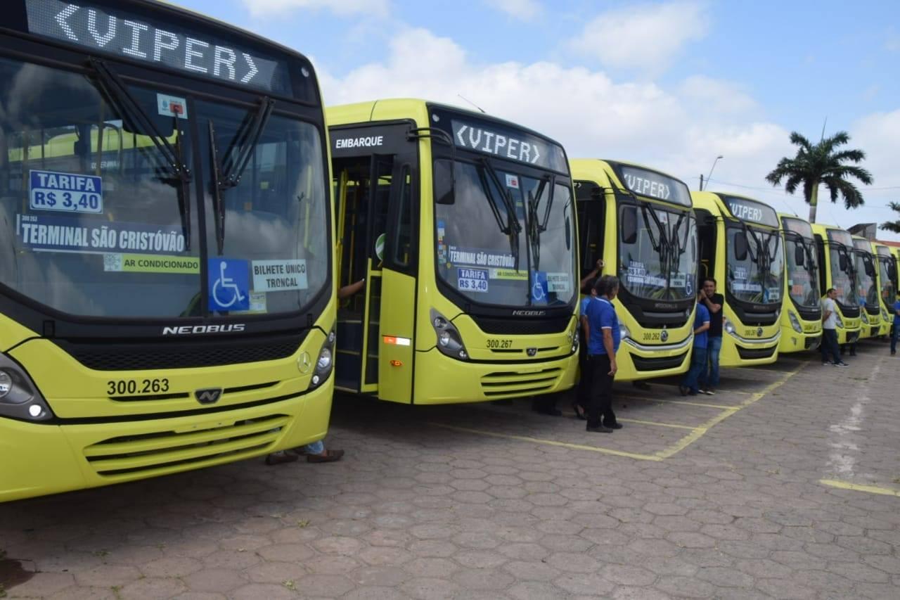 São Luís recebe 17 ônibus novos com ar-condicionado
