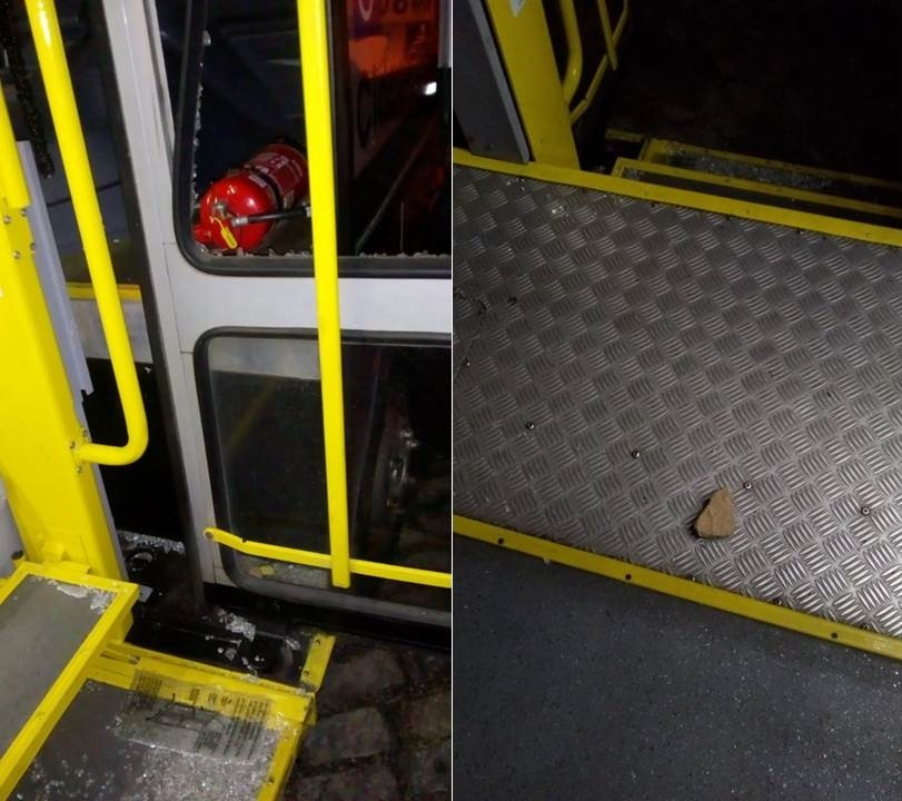 thumbnail_Atos de vandalismo prejudicam a operação dos ônibus em Petrópolis
