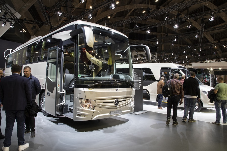 Daimler Buses auf der Busworld Europe 2019 Daimler Buses at Busworld Europe 2019