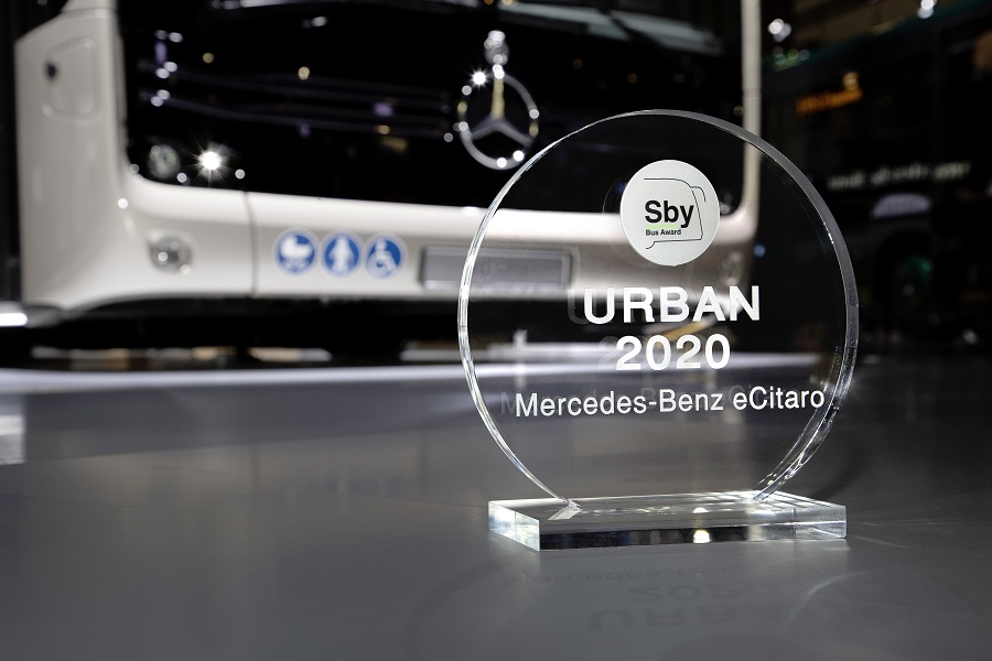 """Drei Preise für Daimler Buses auf der """"Busworld Europe"""""""