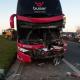Acidente com ônibus a serviço da Buser deixa motorista morto em Minas Gerais