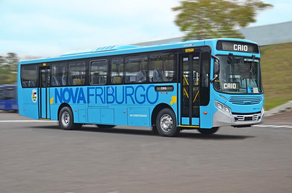 Nova Friburgo (RJ) recebe 27 novos ônibus - Adamo Bazani